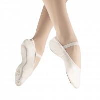 Alista Elite Ballet Shoenen Leather wit