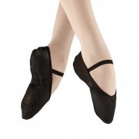 Alista Elite Ballet Shoenen Leather zwart